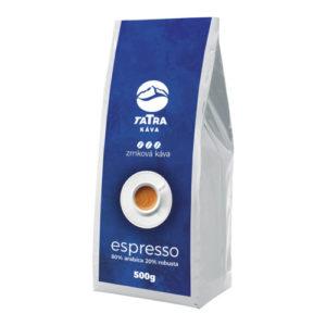 TATRA Káva 80% Arabica 20% Robusta 500g